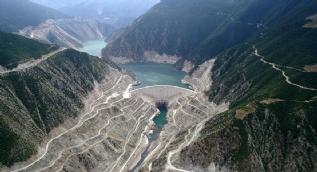 Baraj suları çekildi, 6 yıl sonra gün yüzüne çıktı