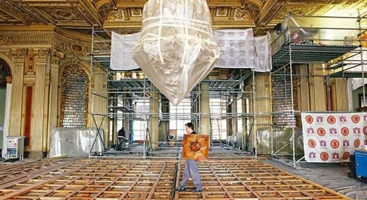 Dolmabahçe, tarihinin en ciddi restorasyonunda