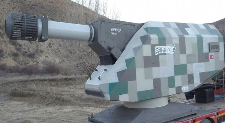 İşte Türkiye'nin F-16'dan 3 kat hızla mermi gönderen silahı
