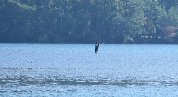 Korkutan görüntü: Deniz suyu çekilince oluştu