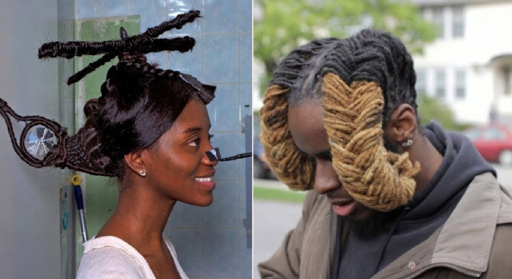 Saçlarıyla fark yaratanlar, en garip saç stilleri