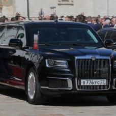 Putin için tanksavar füzeye bile dayanıklı araba yaptılar