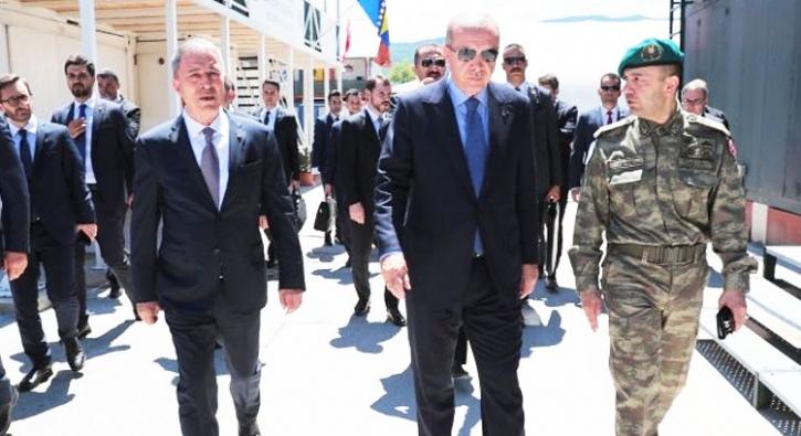 Başkan Erdoğan'ın ilk durağı orası oldu