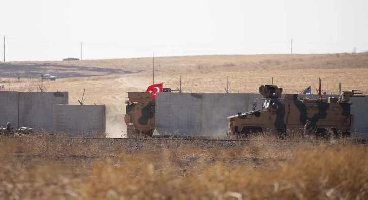 Türk askeri Fırat'ın doğusunda