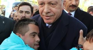 Cumhurbaşkanı Erdoğan Üsküdar'da