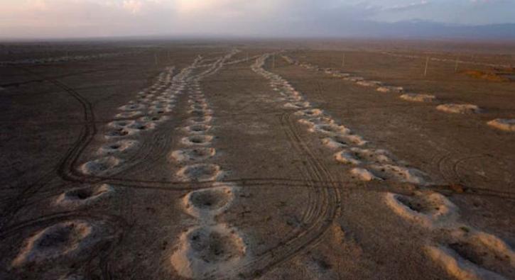 2 bin 200 yıl önce Türkler yaptı! Çölün altında mühendislik harikası...