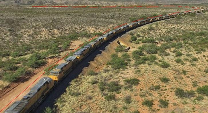 Dev trenin sırrı ortaya çıktı