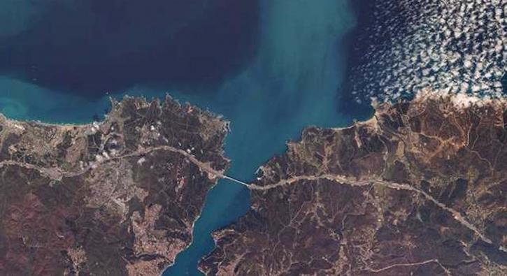 Yerli uydumuz kardeş ülkeyi uzaydan görüntüledi