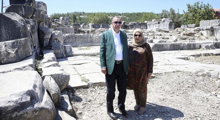 Başkan Erdoğan'ın ziyareti ilgiyi artırdı... Duyan oraya gidiyor