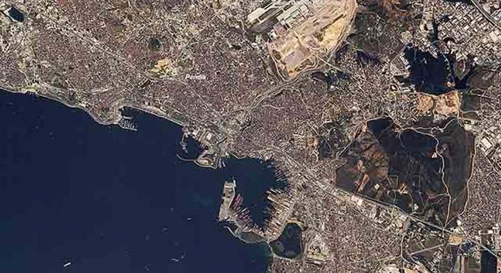 Rasat uydumuz, Pendik, Yalova, Gebze ve Bursa'yı görüntüledi