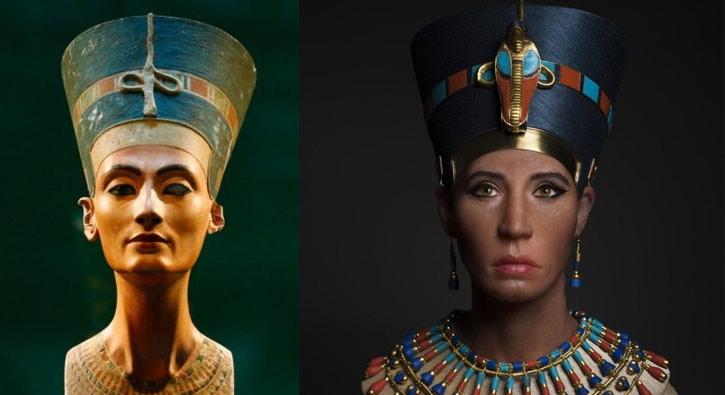 Kraliçe Nefertiti'nin teni tartışma yarattı