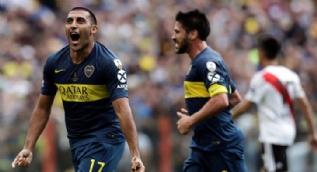 Libertadores finalindeki Süperclasico maçı nefesleri kesti
