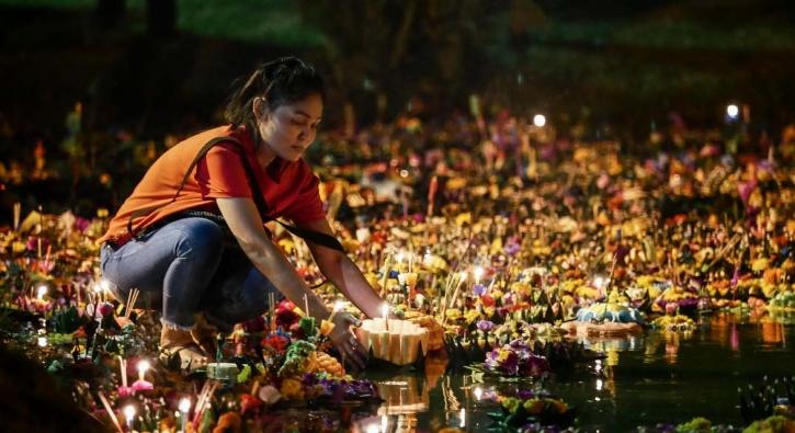 Dolunay gecesini böyle kutladılar... Festivalden renkli kareler