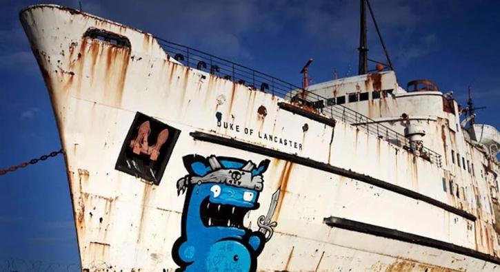 Bir zamanlar 'Dük'lerin gemisiydi, şimdi ise...
