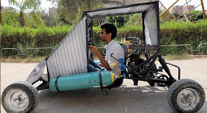 Hava ile çalışan otomobil yaptılar