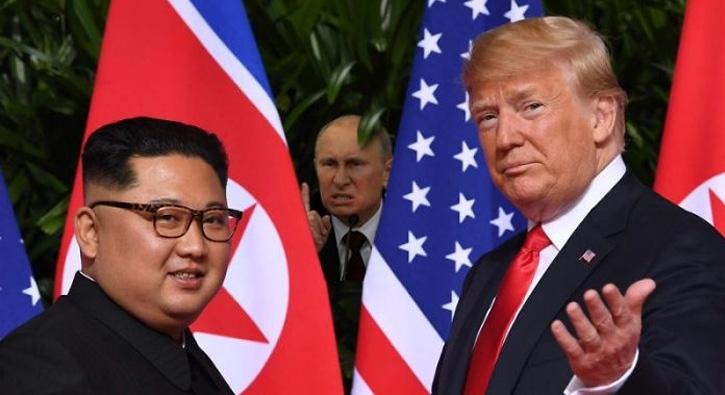 Trump ile Kim'in görüşmesi sosyal medyanın dilinde