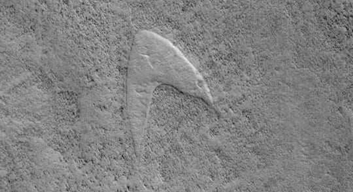 Mars'ta şaşkına çeviren 'Star Trek' keşfi!