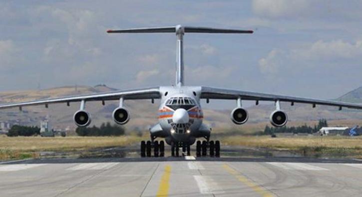 Bakanlık açıkladı! Yedinci uçak Ankara'ya indi