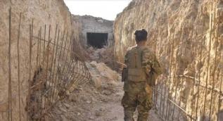 Teröristlerin sığınak olarak kullandığı tüneller ortaya çıktı!