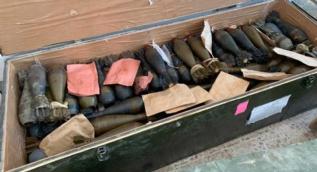 Çok sayıda silah ele geçirildi! Tel Abyad'dan son kareler...