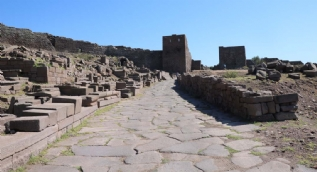 2300 yıl öncesine ait! Assos'ta bulundu