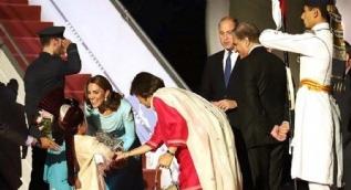 Kraliyet çifti Pakistan'da