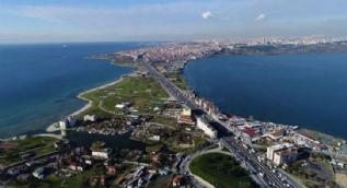 Kanal İstanbul havadan böyle görüntülendi