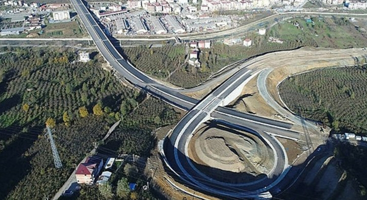 Türkiye'nin en pahalı yatırımlarından olan Ordu Çevre Yolu yakın zamanda hizmete girecek