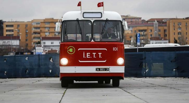 Türkiye'nin ilk yerli troleybüsü 'Tosun' yeniden yollarda