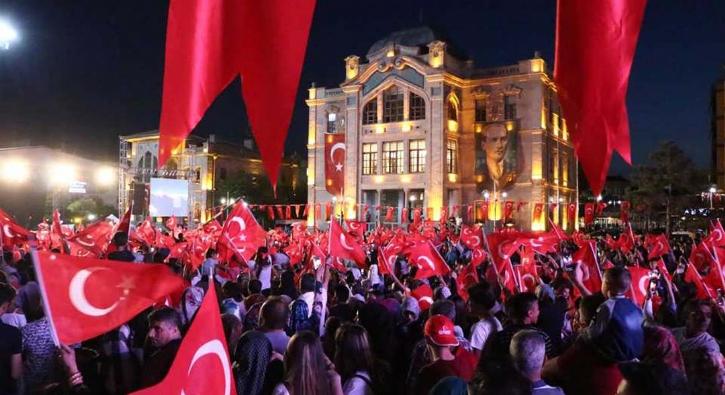 15 Temmuz Demokrasi ve Milli Birlik Günü'nden kareler