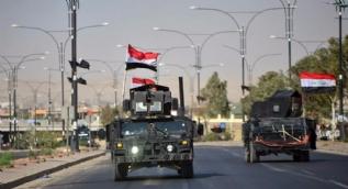 Irak askerlerinin Kerkük'e girişinden ilk görüntüler