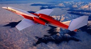 AS2 isimli dünyanın ilk süpersonik özel uçağı havalandı