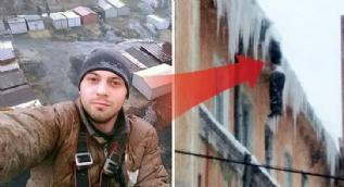 Korkunç son! Binanın çatısında donarak...