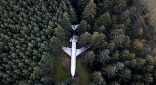 O uçak 15 yıl sonra böyle görüntülendi