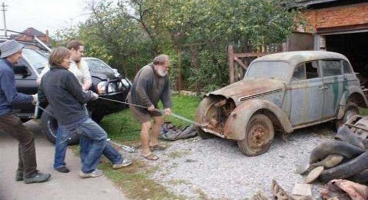 Bir garajda unutulmuştu! 45 yıl sonra çıkartıldı ve...