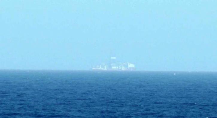 Yavuz sondaj gemisinden ilk görüntü geldi