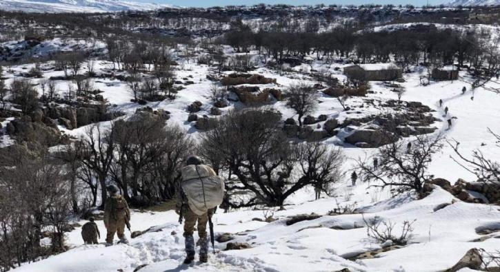 PKK'nın Kış yapılanmasına büyük darbe