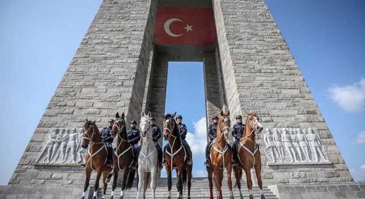 104'üncü yıl dönümünde 'atlı birlikler' göz kamaştırıyor