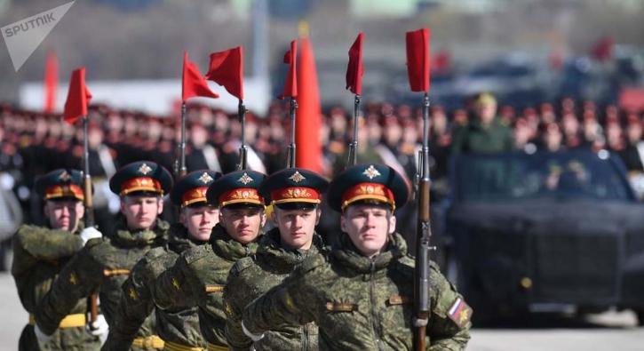 Rusya'da 9 Mayıs provası yapıldı