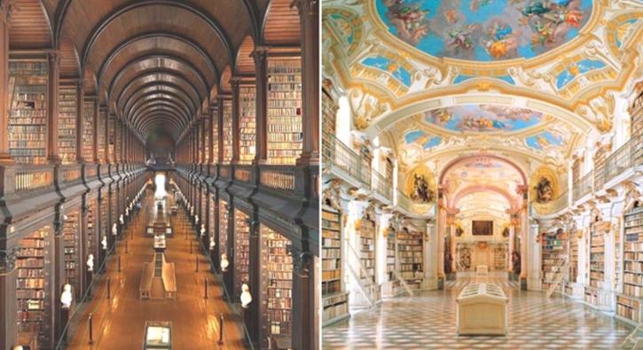 Dünyanın en etkileyici kütüphaneleri