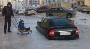 Rusya'da sıradan bir gün