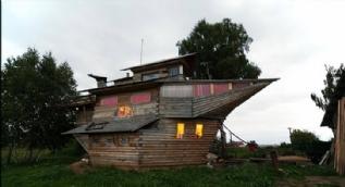 Rusya'daki en sıradışı evler