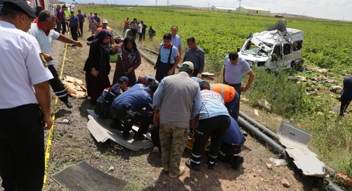 Nevşehir'de katliam gibi kaza: Olay yerinden ilk görüntüler...