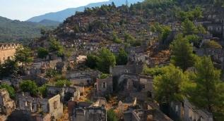 'Hayalet Köy' böyle görüntülendi