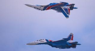 Su-30'lar TEKNOFEST'te nefes kesti! İşte o anlar