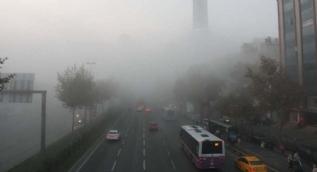 İstanbul sise büründü