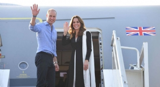 Kraliyet çiftinin dönüş yolculuğu kabusa döndü