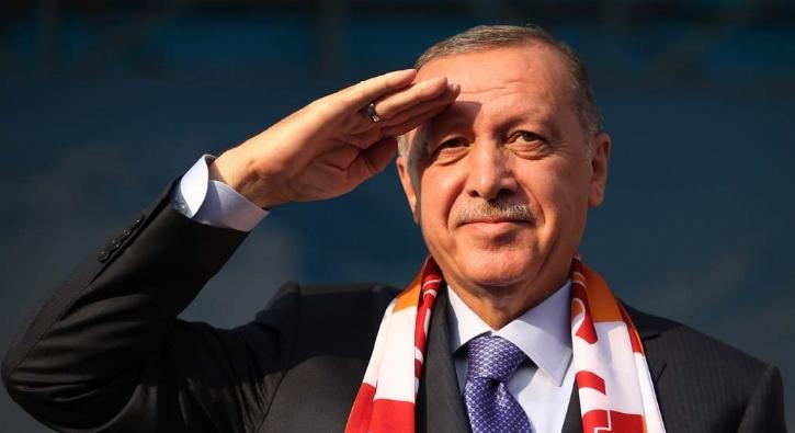 Başkan Erdoğan'dan asker selamı