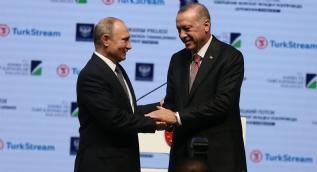 TürkAkım Projesi Deniz Bölümünün Tamamlanması Töreni