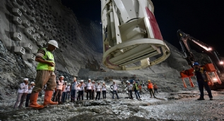 Türkiye'nin en yüksek barajı projesinde sona geliniyor